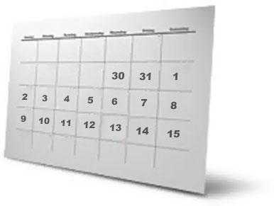 calendario gtd